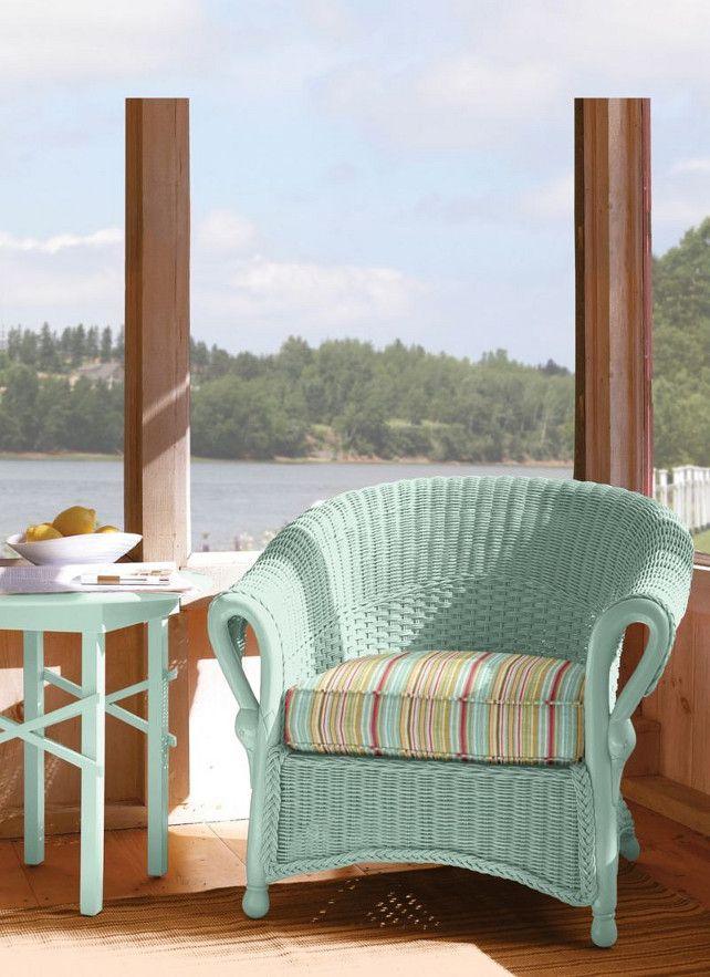 Comment nettoyer et peindre une chaise en osier? | rotin couleur ...