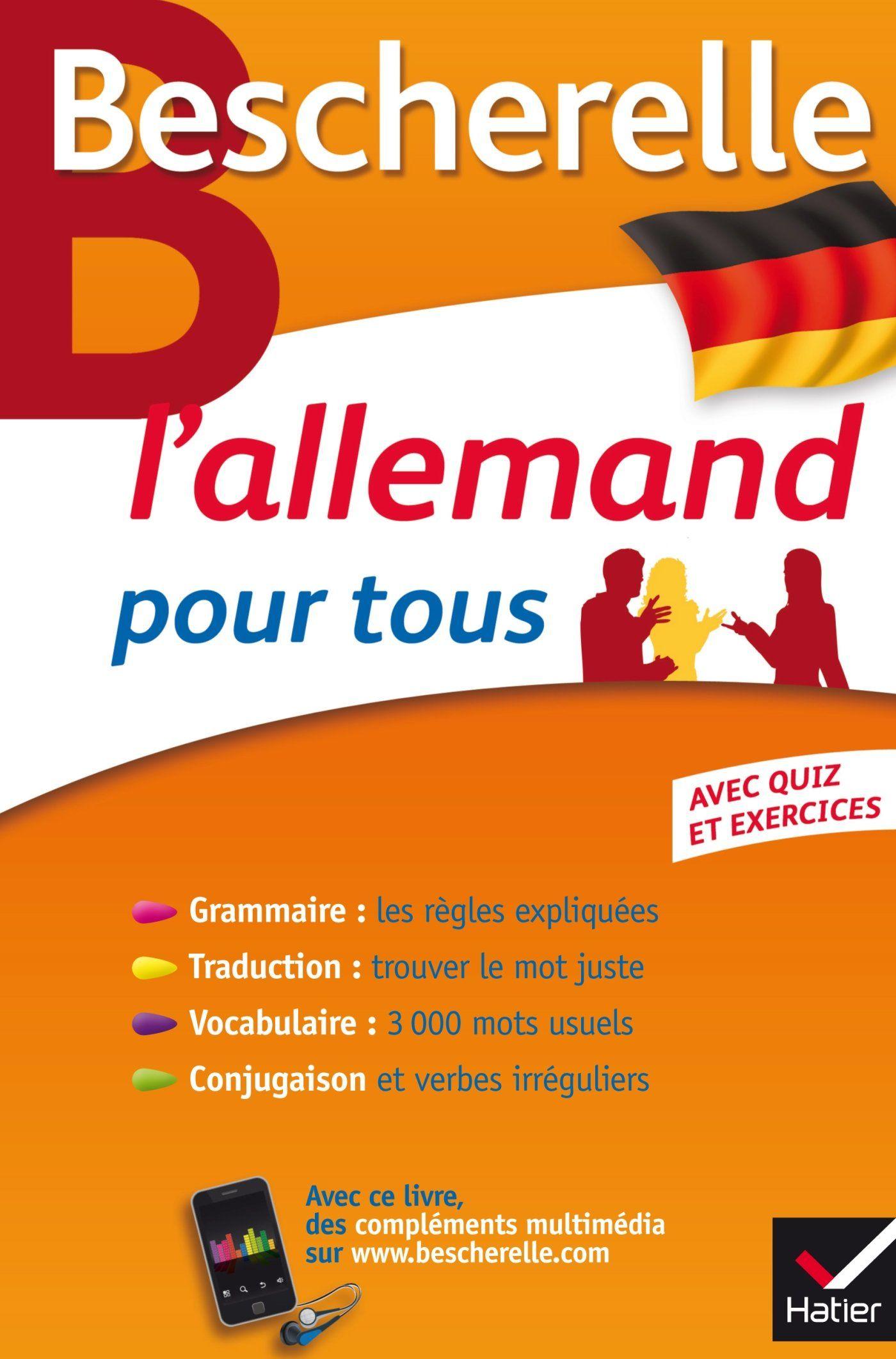 Bescherelle L Allemand Pour Tous Grammaire Vocabulaire Conjugaison Telechargement Pdf Gratuit Telecharger Pdf