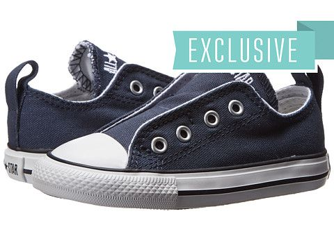 Converse Kids Chuck Taylor® All Star® Core Slip (Infant Toddler) Athletic  Navy - Zappos.com Free Shipping BOTH Ways 1613e1f3e