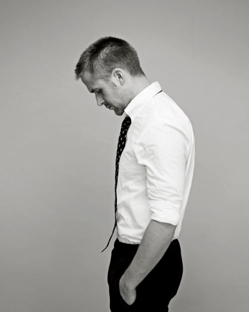 Ryan Gosling. Don't look so sad, I'll gladly hug away the pain