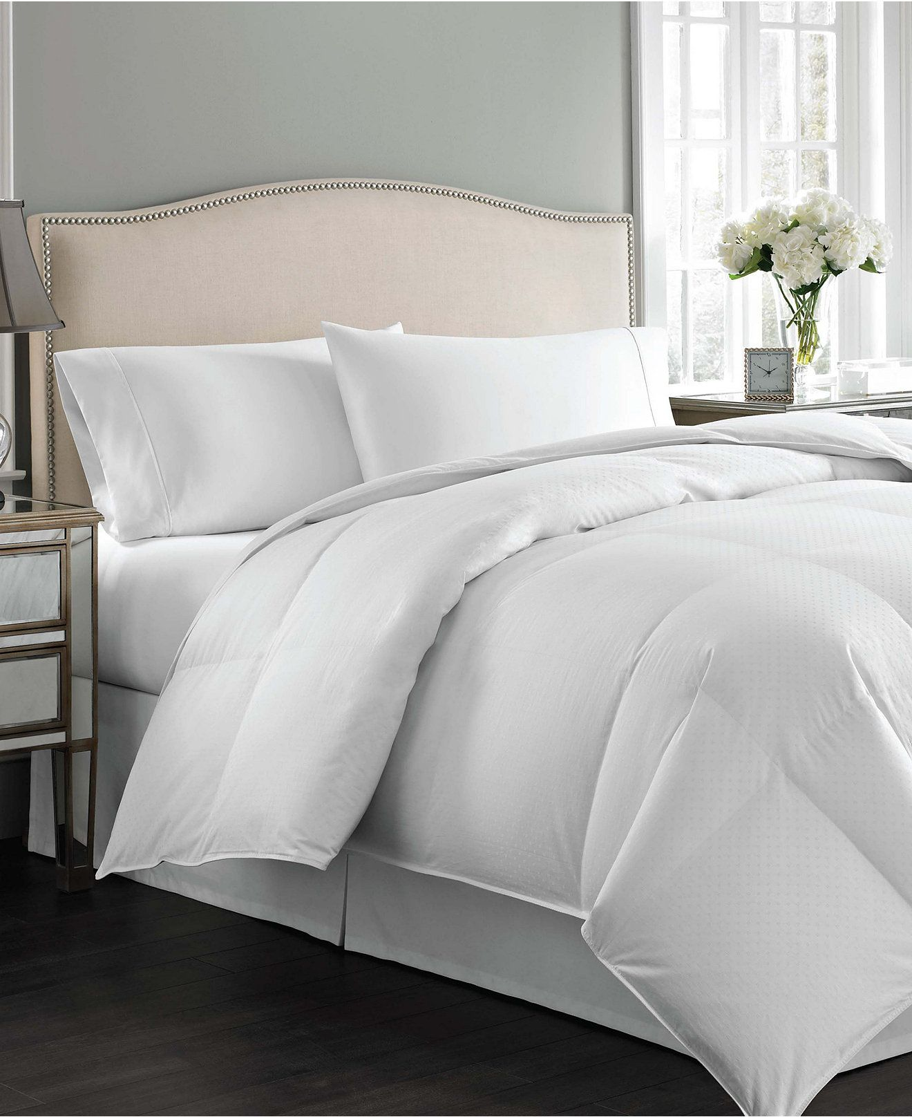 Charter Club Closeout Vail Level 3 European White Down Comforters Medium Warmth Hypoallergenic Ultraclean Down Created For Macy S Reviews Comforters B White Down Comforter Down Comforter Bedding Down Comforter