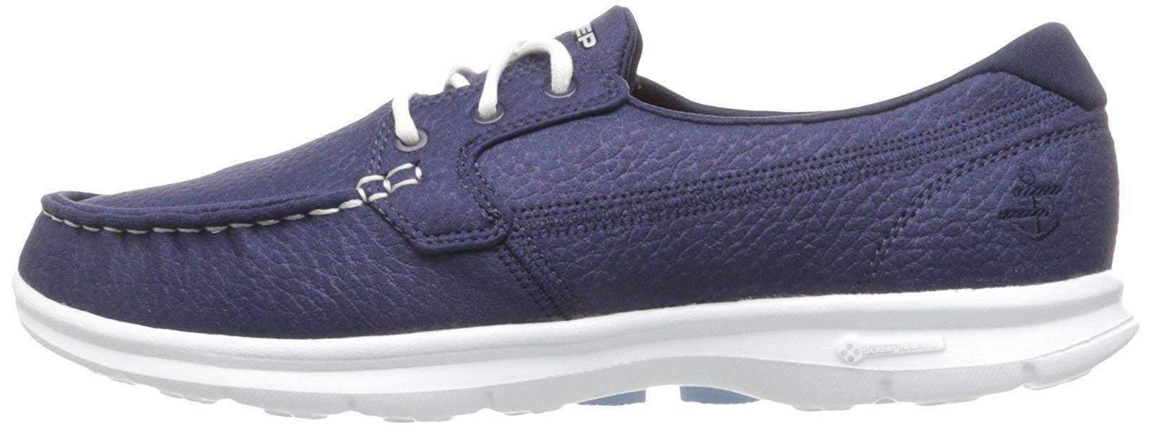 Skechers Go Step Lite, Entrenadores para Mujer, Azul (Navy/Lt. Blue), 38 EU