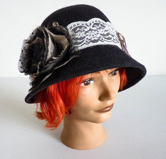Ladies Grey Hat 03747a9c554