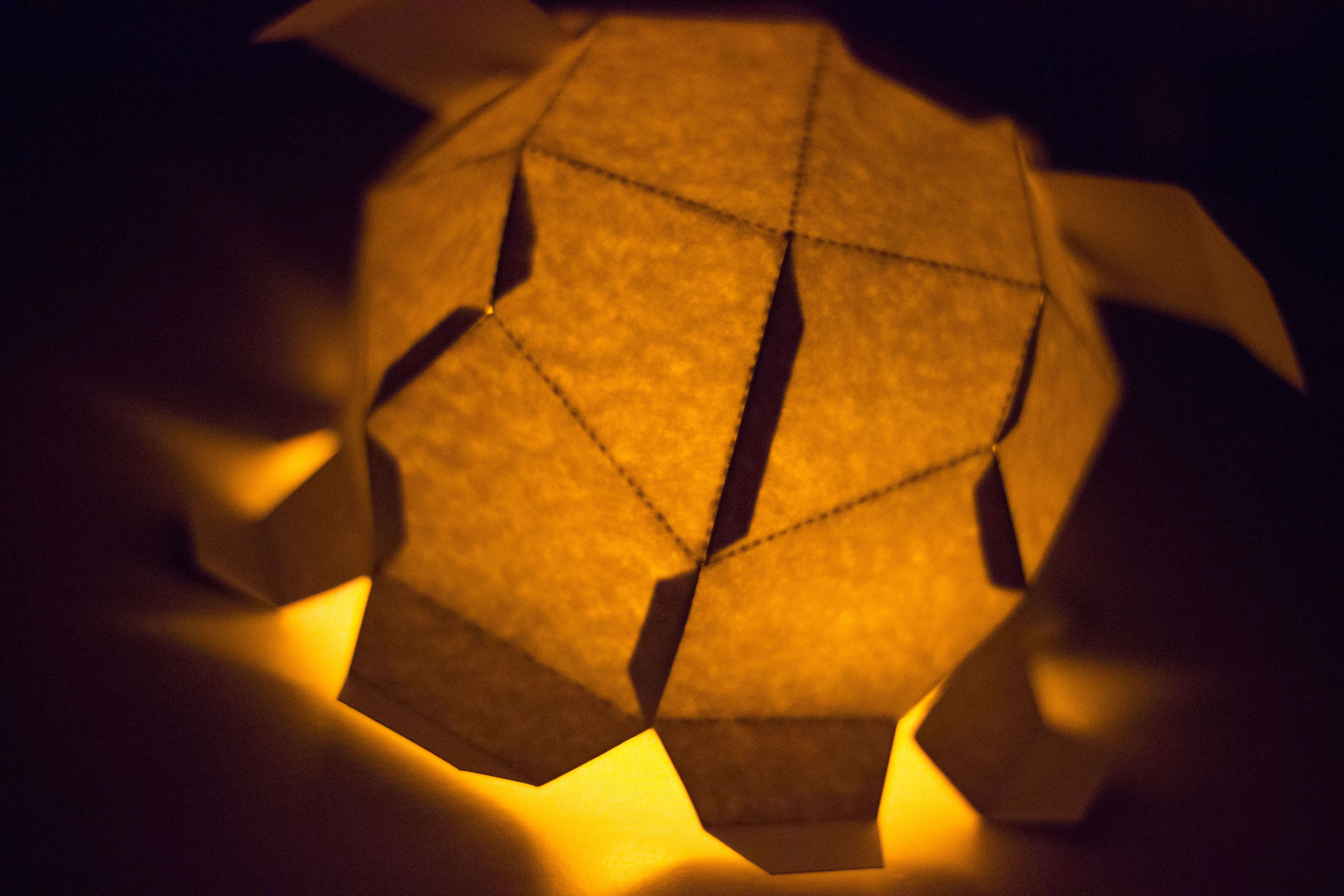 Diy Paper Toy Luminary Inspired By The Adorable Dumbo Octopus