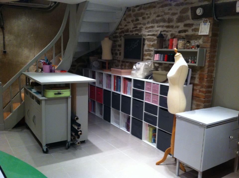 L'atelier de Chamalos - craft room