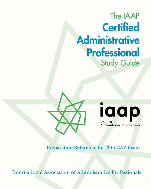 certification iaap main site administrative assistant