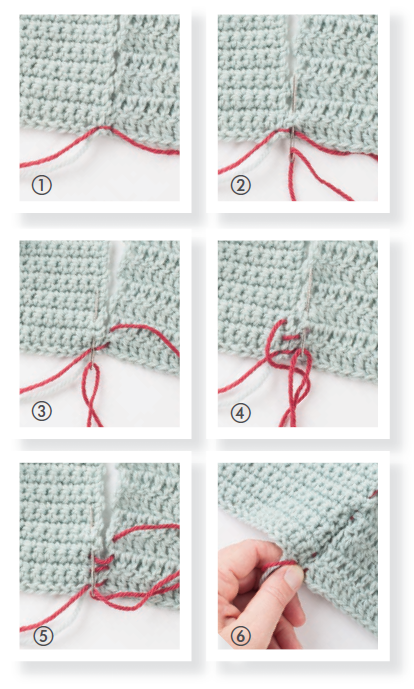 How To Use The Mattress Stitch How To Crochet Tipstutorials And