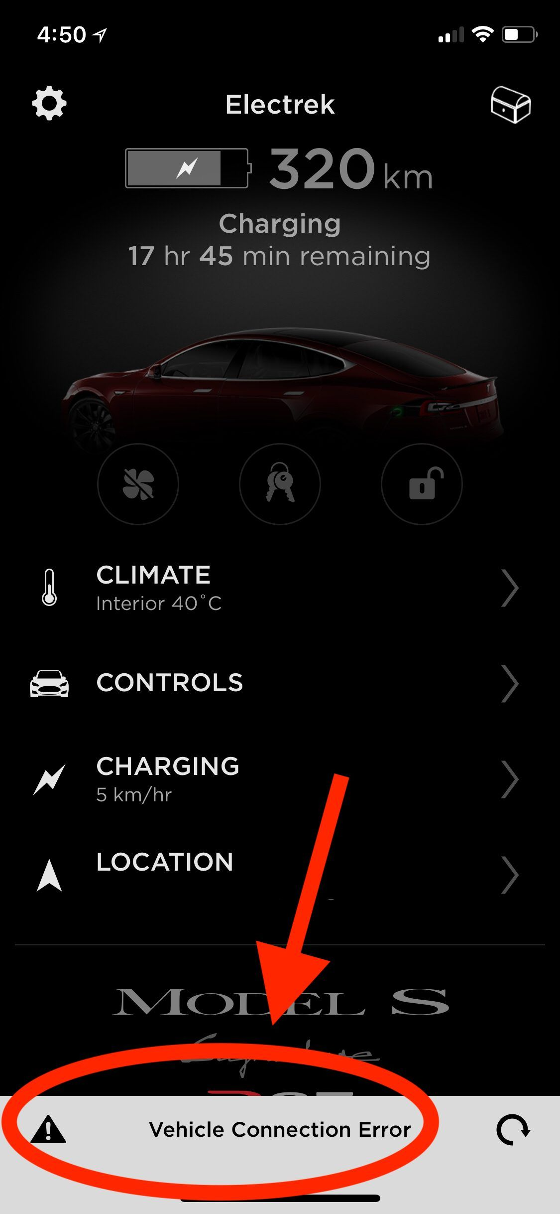 Tesla s fleet internet network is down [Updated] Tesla