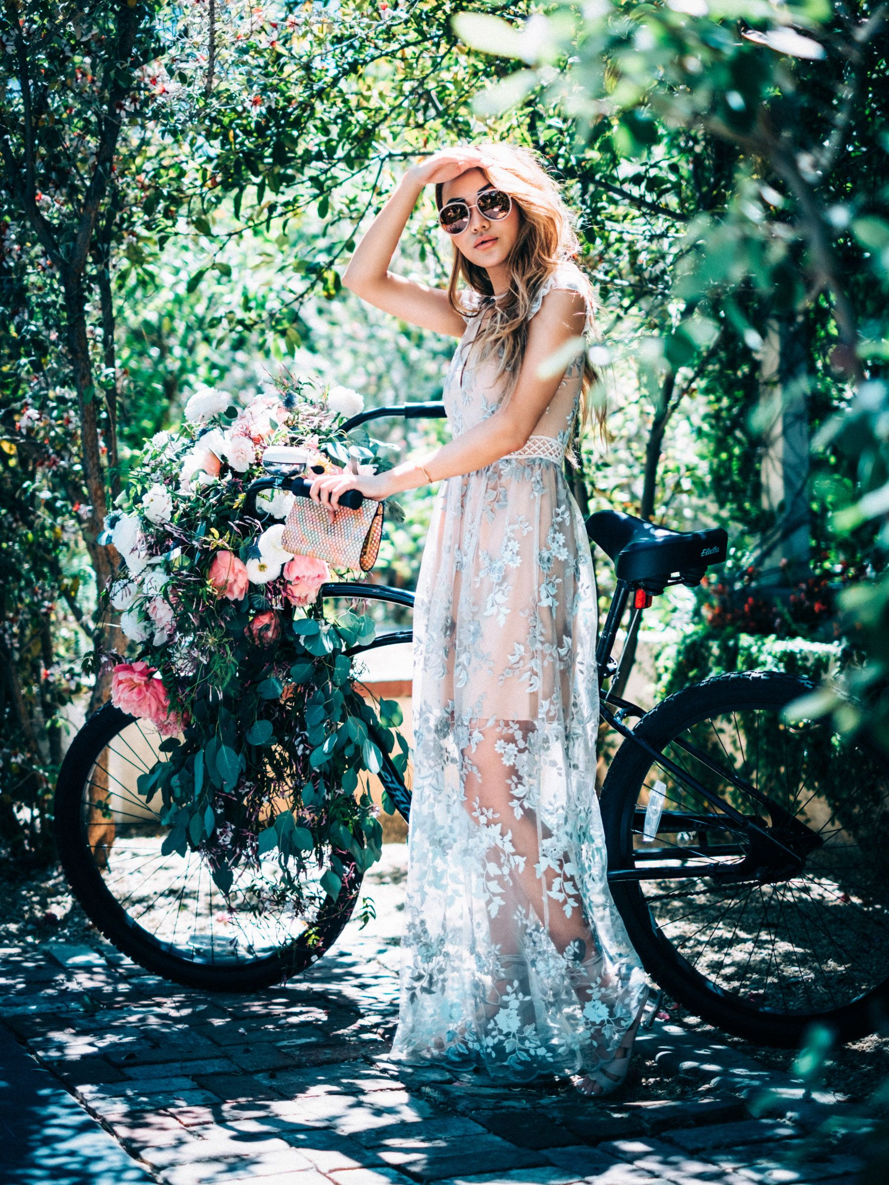 Instagram outfit round up coachella recap wedding hair style