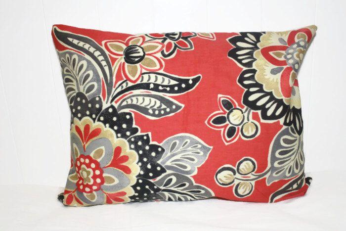 Pillow Throw Pillow Cover Decorative Pillow Cover Coral Black Cool Black And Tan Decorative Pillows