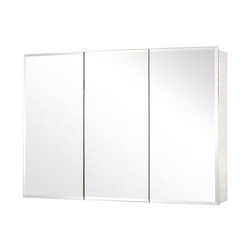 Pegasus Tri-View Beveled Mirror 48W x 26H in. Medicine Cabinet SP4588 Pegasus,http://www.amazon.com/dp/B005Y4Q3IK/ref=cm_sw_r_pi_dp_qQbrtb16QGMV3Y4Y