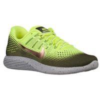 Nike LunarGlide 8 Shield - Men's - Running - Shoes - Volt/Metallic Red Bronze/Dark Grey/Wolf Grey