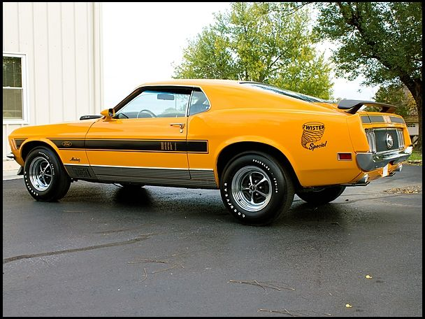 1970 Ford Mustang Mach 1 Twister Edition