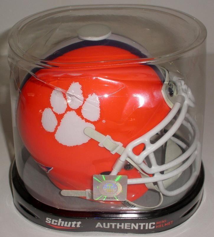 Schutt CLEMSON TIGERS NCAA XP Authentic MINI Football Helmet