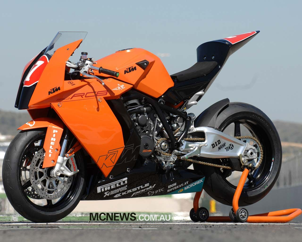 KTM 1190 RC8 easily the sexiest performance street bike