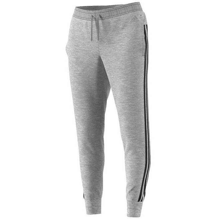 adidas 3 Stripe Fleece Sweatpants | Products in 2019 | Grey