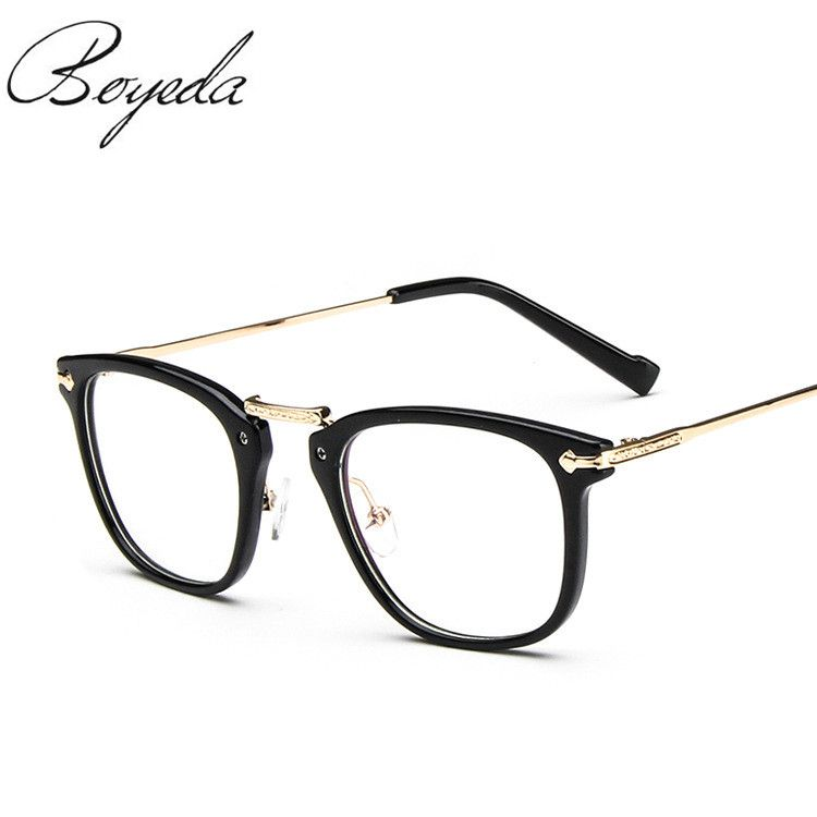 8f3a24134db 2017 Brand Women Spectacle Frame Vintage Optics Eyeglasses Frame Women  Prescription Eyewear Trend Men Retro Clear Glasses Tag a friend who would  love this!