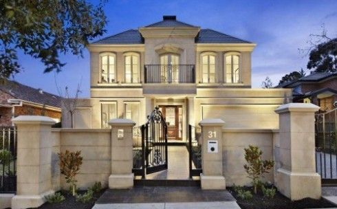Modern French Style Home French House Modern House Exterior