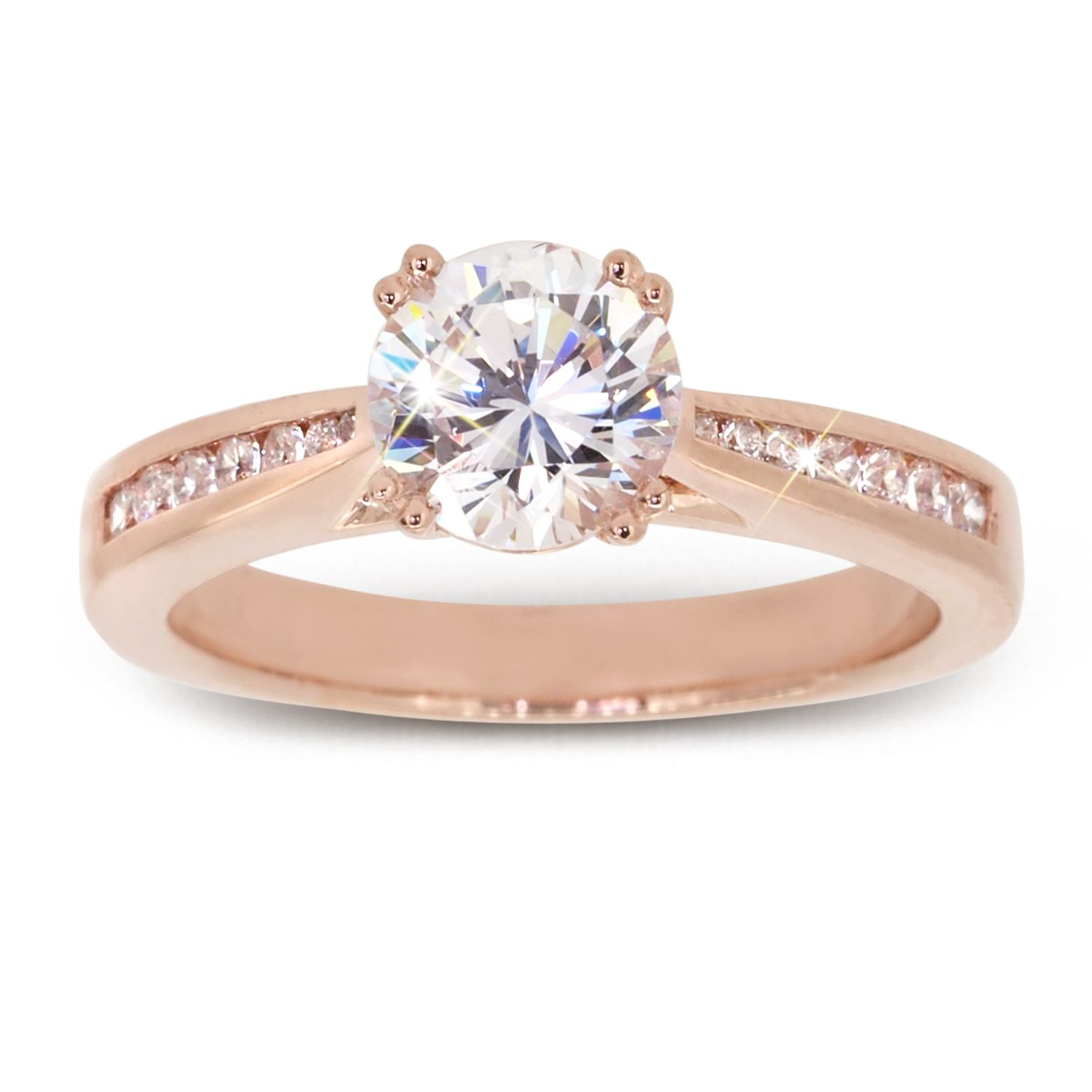 Rose Gold Rings Sydney Moi Moi Fine Jewellery Diamond Collection