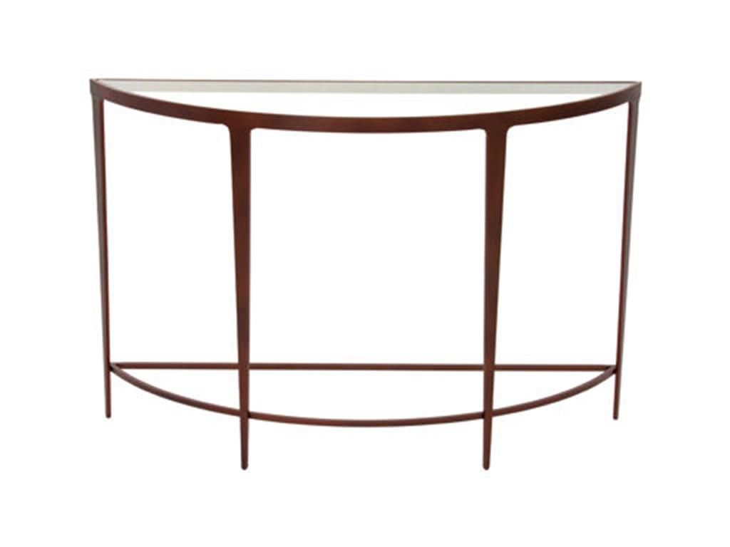 Charleston Forge Living Room Roundabout Console 6420   Alyson Jon Interiors    Houston And Beaumont,