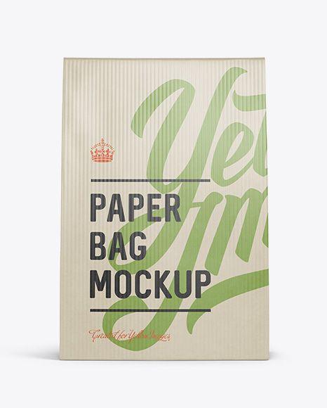 Download Paper Bag Mockup Front View In Bag Sack Mockups On Yellow Images Object Mockups Bag Mockup Mockup Free Psd Mockup