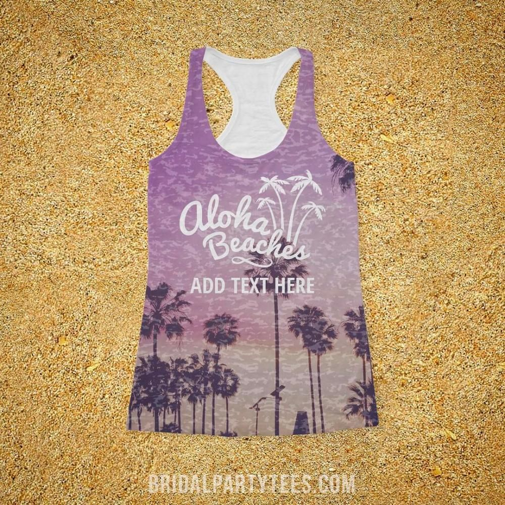 All Over Printing Palm Aloha