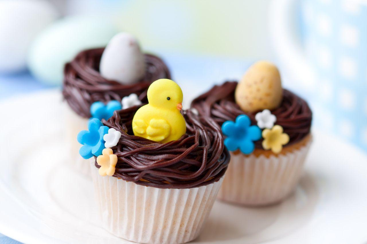Photo of Osternest Cupcakes. Es gibt viele köstliche und unterhaltsame Osterrezepte, die…