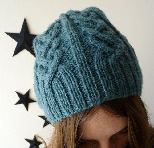 tricoter un bonnet circulaire