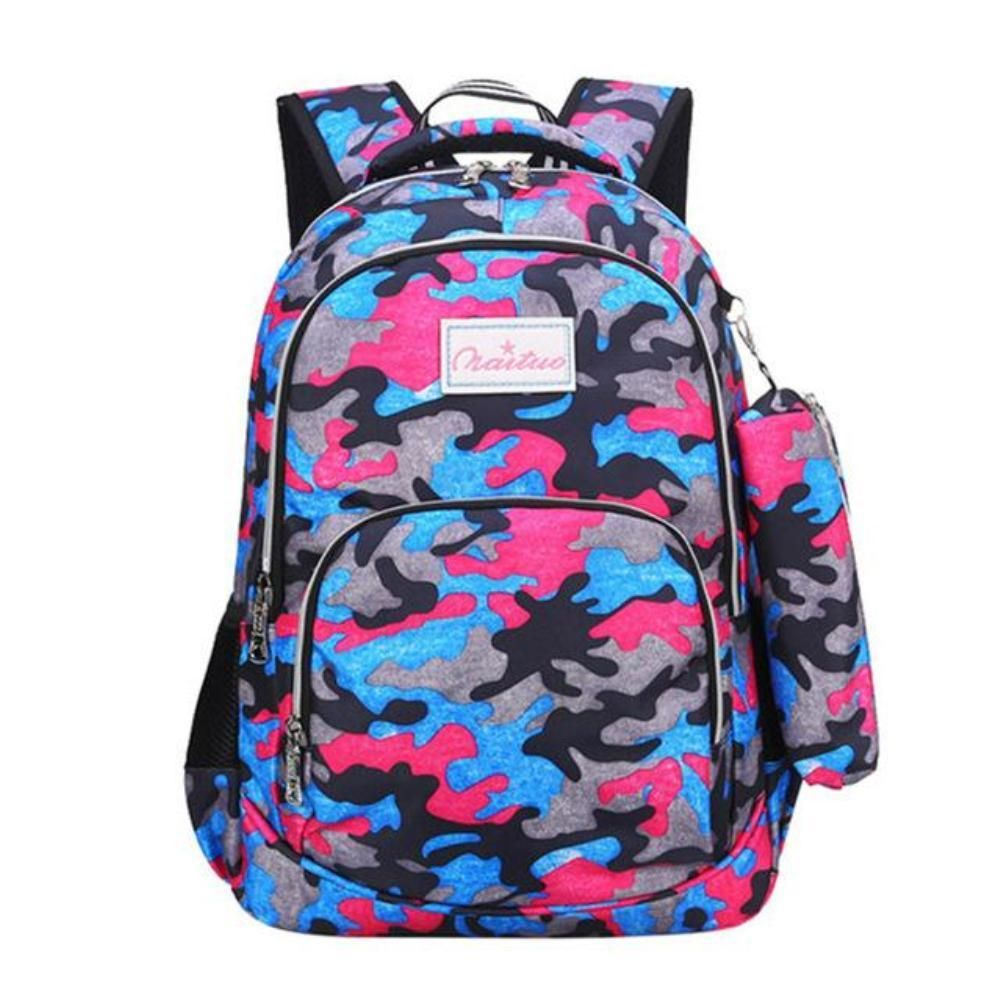 Children s Large Capacity Camouflage Backpack – Choice Camo eea7ad475b443