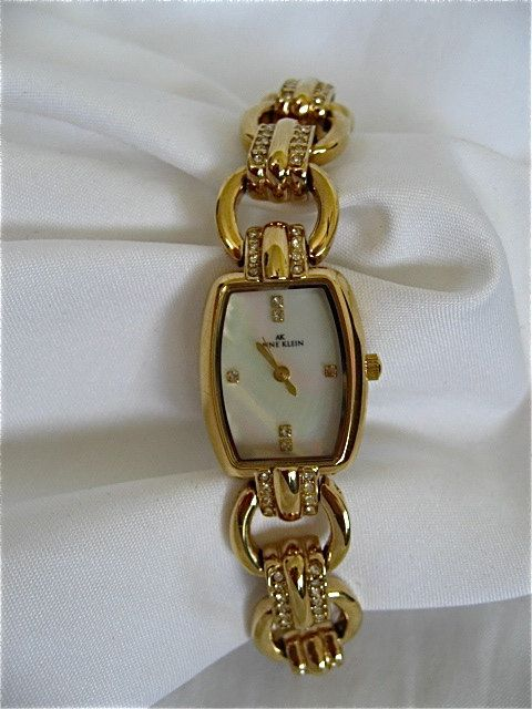 f521fbe1d46ab Vintage Anne Klein Ladies Watch by DelicateCreations on Etsy ...