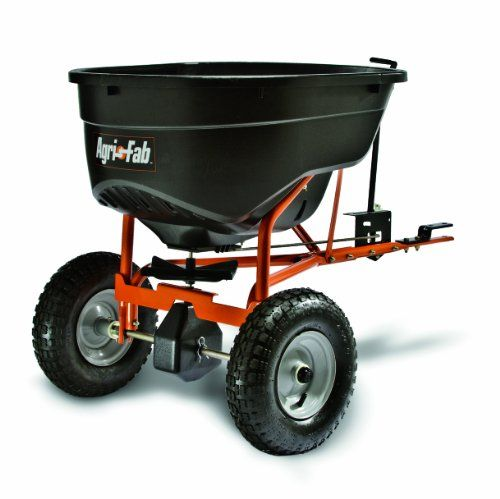 Agrifab 450463 130pound Tow Behind Broadcast Spreader Read More Reviews Of The Product By Visiting The Link On The Image Lawn Care