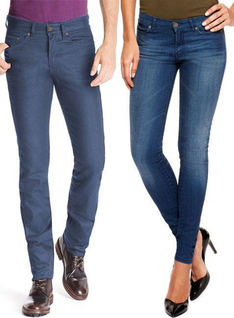 Skinny Jeans - Stretch Denim