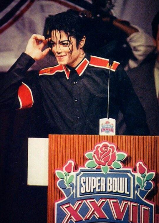 Super Bowl halftime show press conference 1993