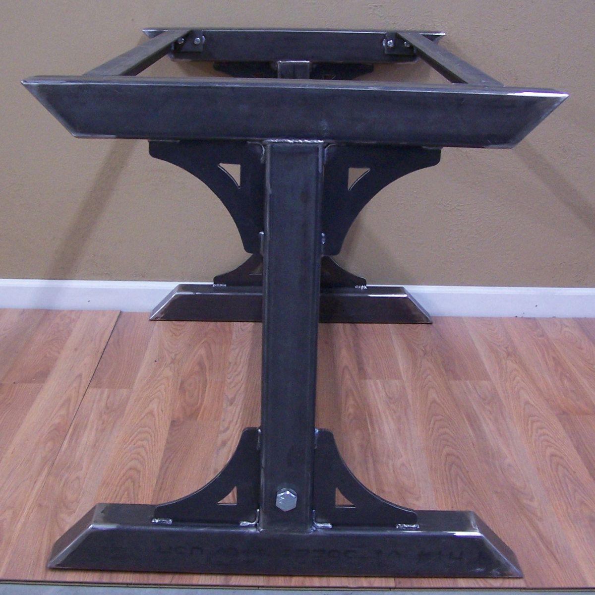 Industrial Steel Table Base Kitchen Island Bar Legs