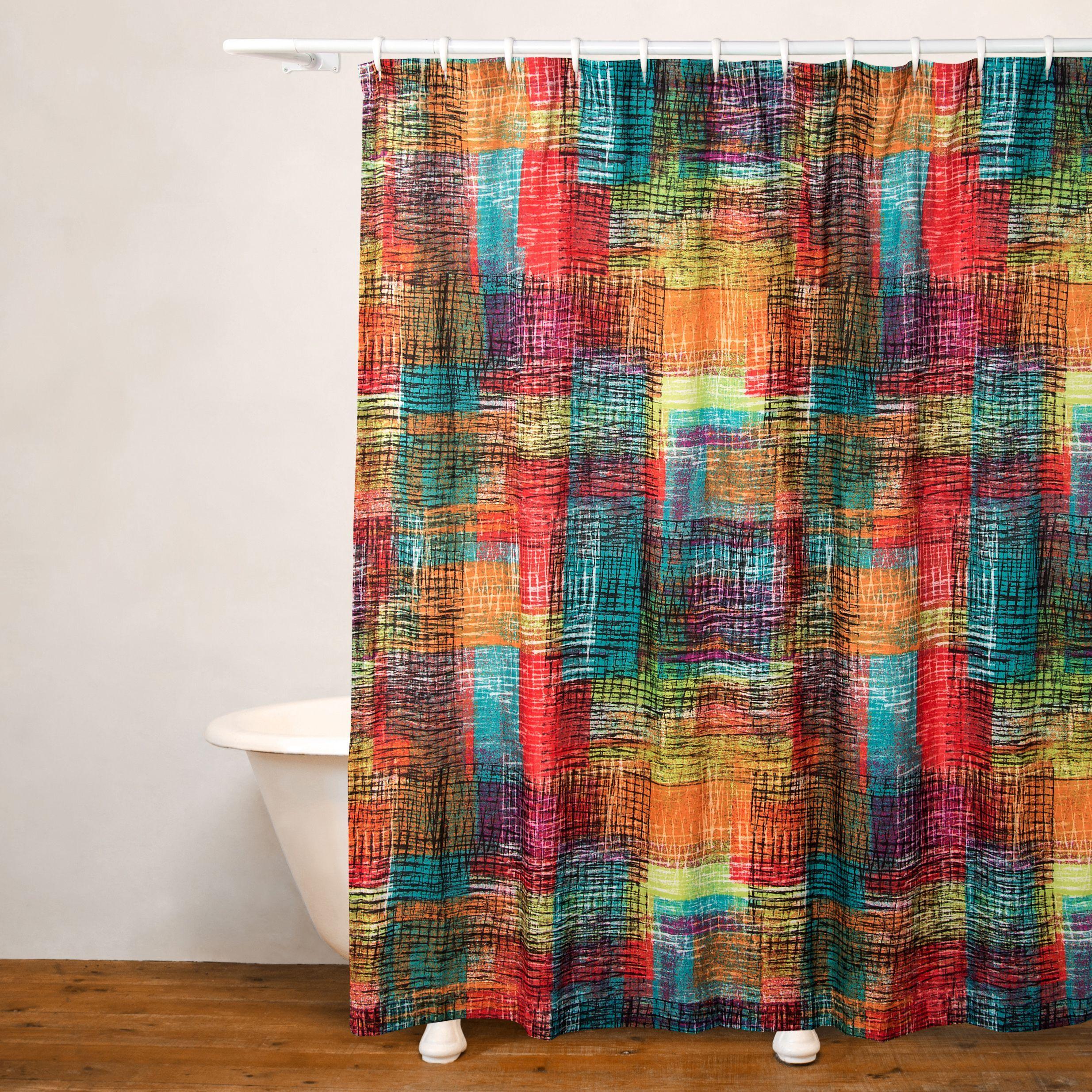 Crayola Etch No Liner Shower Curtain Etch Shower Curtain Black