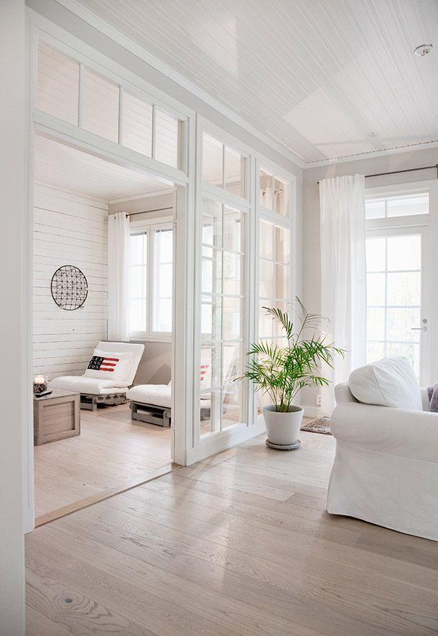Wonderful KANNUSTALO   Suomen Kauneimpia Koteja Tolle Trennung Zwischen Wohnzimmeru2026 Nice Design