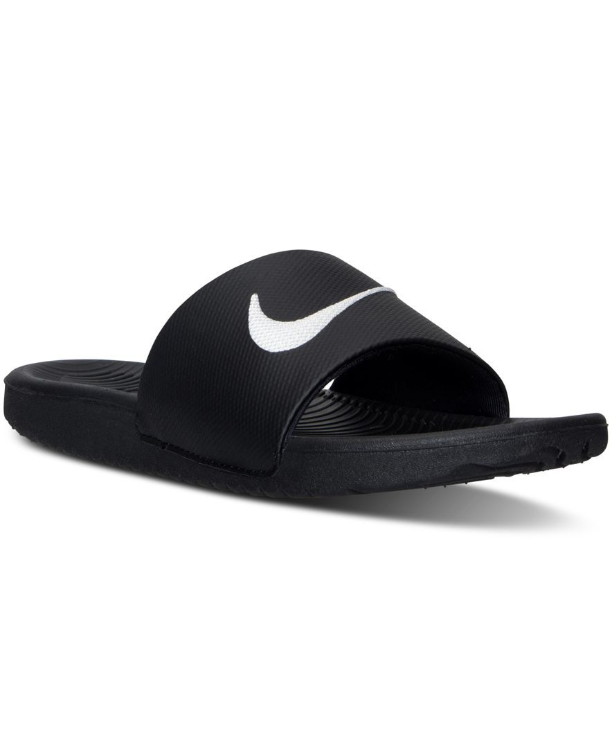 c02b58c93bdfb Nike Boys  Kawa Slide Sandals from Finish Line