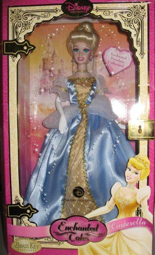 "Brass Key Disney Princess 7/"" Porcelain Sleeping Beauty Aurora Doll"