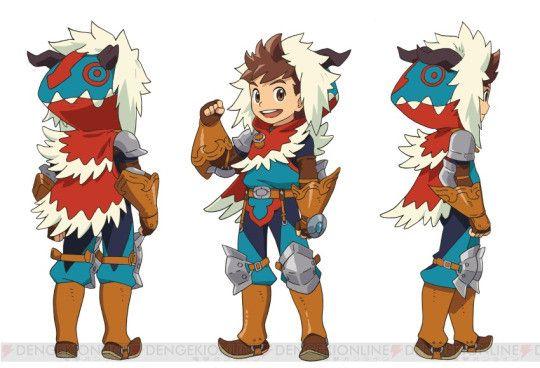 Monster Hunter Stories Anime Monster Hunter Art Fantasy