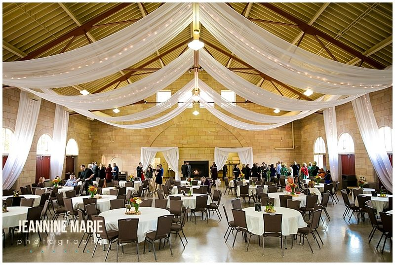 Harriet Island Pavilion Wedding Fall Reception D Decor Inspiration Ideas Centerpiece Ceiling