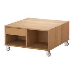 BOKSEL Bord - eikefiner - IKEA