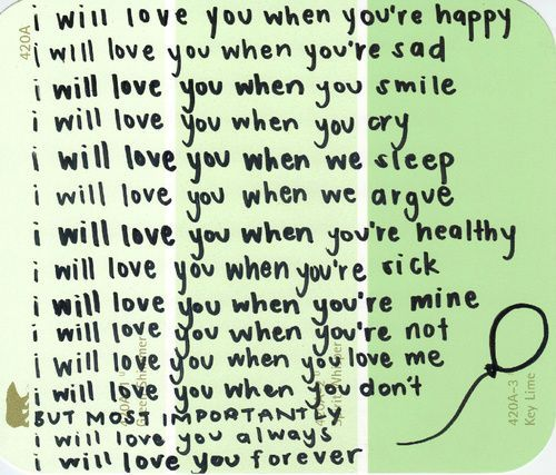 Love u forever quotes for him