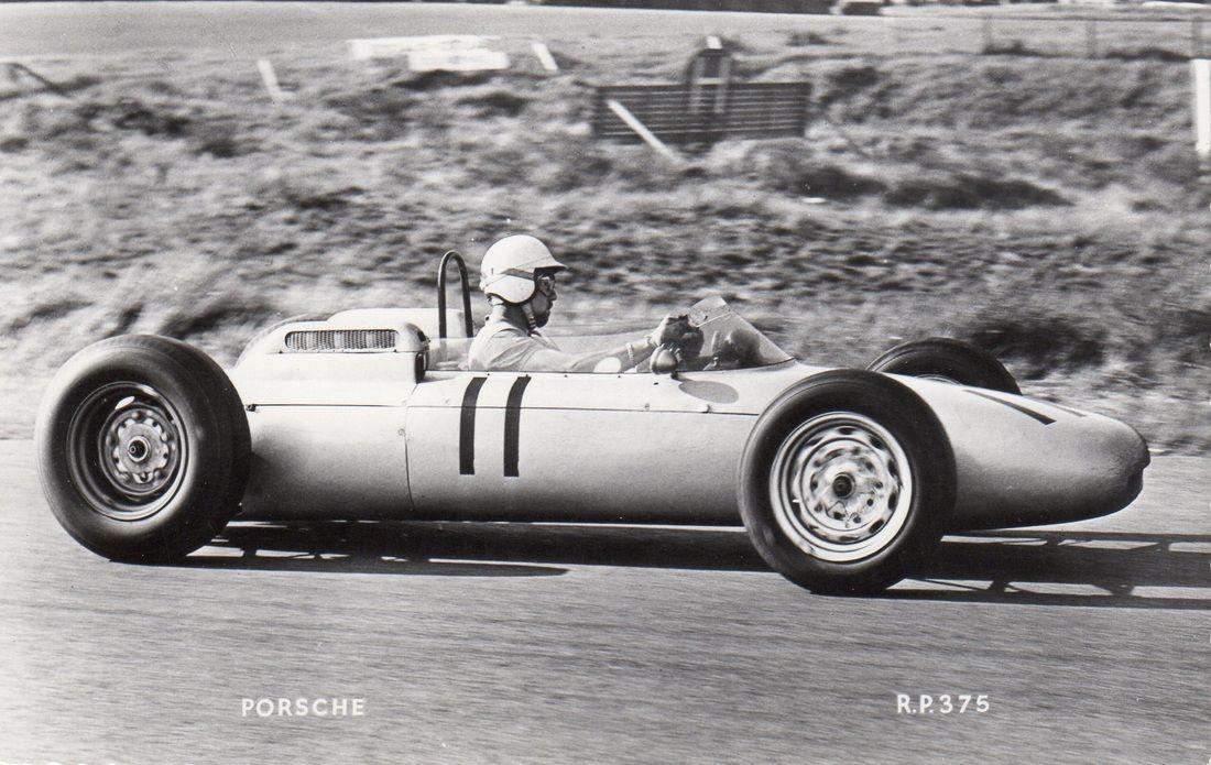 Jo Bonnier, Porsche 787, Dutch Grand Prix, Zandworth, 1962 (7th).