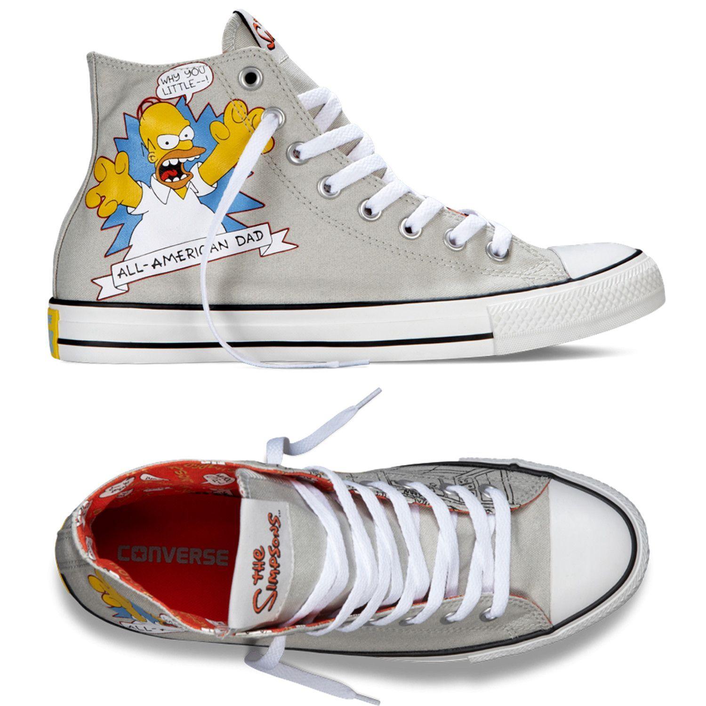 0fc5f214306a Converse Homer Simpsons All Star Chuck Taylor Kicks   Sneakers ...