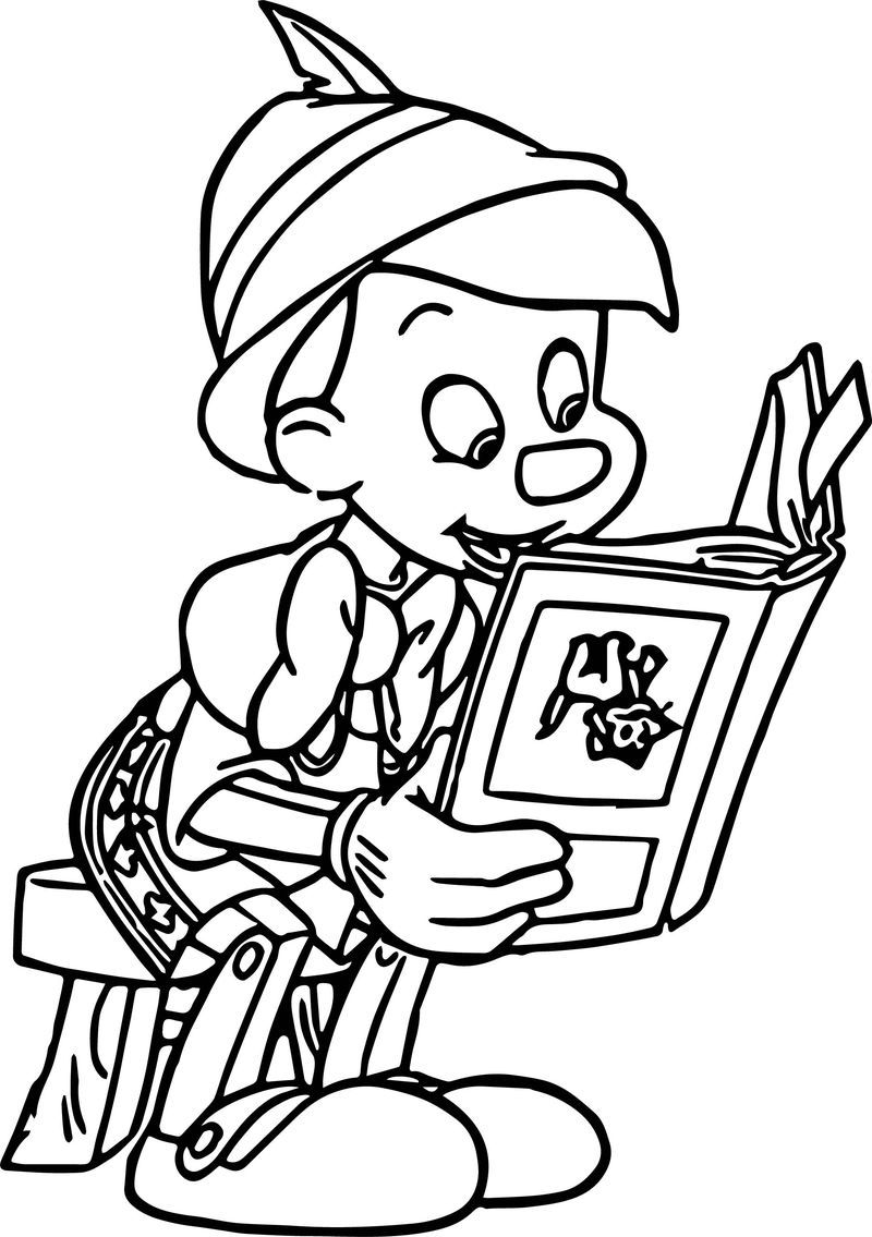 Pinocchio Flip Book Reading Coloring Pages Flip Book Coloring Pages Disney Coloring Pages
