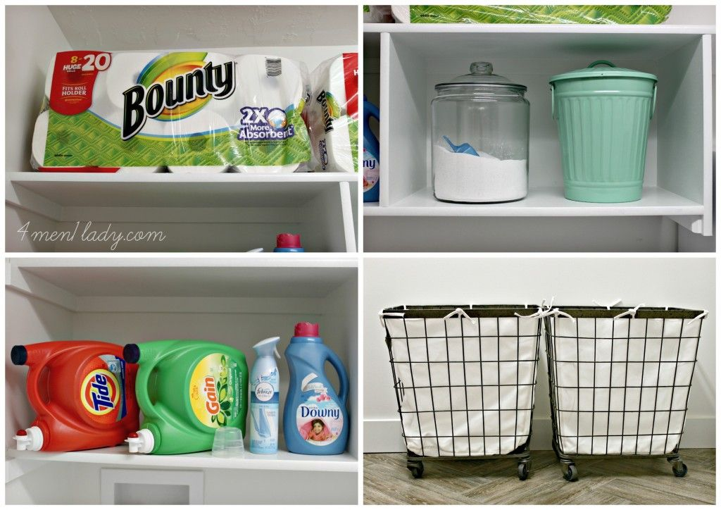 Laundry Room Makeover and Start Clean in 14 | Laundry room ...