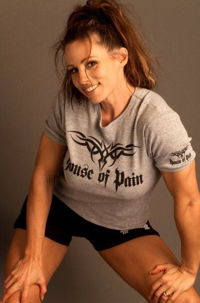 Elaine Goodlad Body Building Women Muscle Women T Shirts For Women