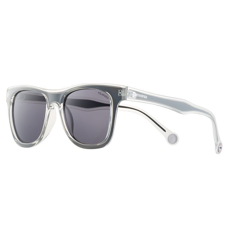 665a8644c1c4 Converse H051 52mm Chuck Taylor Polarized Square Sunglasses, Adult Unisex,  Grey