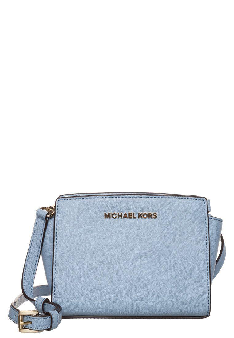 aa6cde5106f1 MICHAEL Michael Kors - SELMA - Skulderveske - pale blue | Designer ...