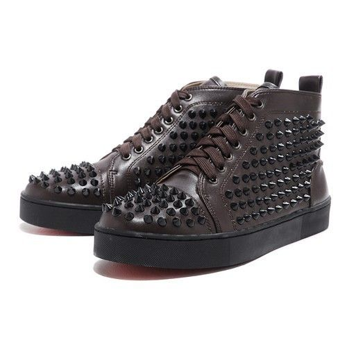 aa7f595839a Christian Louboutin Homme Chocolat Rivet